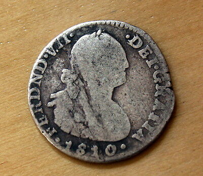 1810 JF Colombia 1 Real Silver