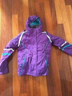 Girls Size 14 girls crane brand ski jacket - bonus gloves