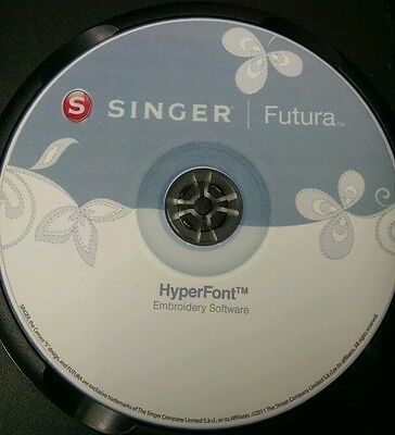 Singer Futura XLInstall and Optional Software & Bonus Electronic delivery only