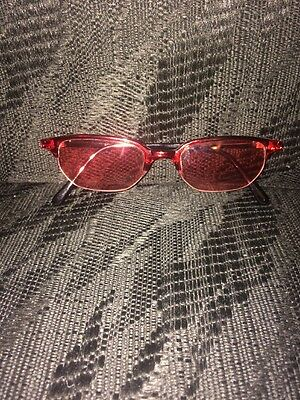 Rose Colored Sun Glasses
