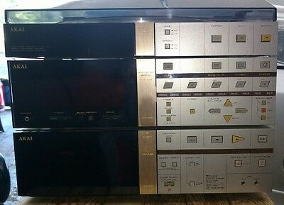 Vintage AKAI component stereo system