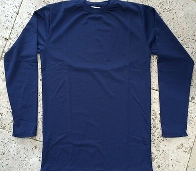 Baseball Undershirt Long Sleeve - Navy - ASA Brand