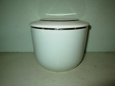 Ballerina Mist mixing bowl or refrigerator jar with lid Universal  large, 6 inch