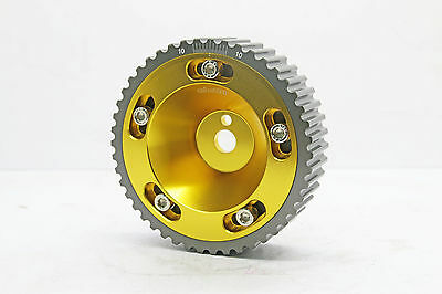 NEW! DD Gold Cam Gear Pulley|Suit Mitsubishi Lancer Mirage CA4A CB4A CC4A 4G92