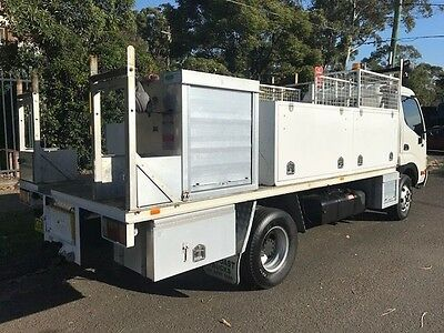 2005 Hino Dutro With Tool Boxes & Large Tray