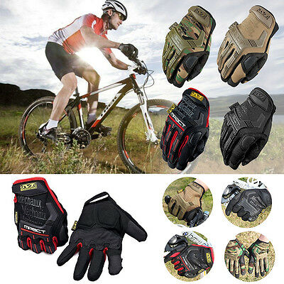 Tactical Full Finger Gloves Military Tactical Airsoft Shooting Hunting Bike Race