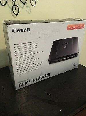 CanoScan LiDE 120 Colour Desktop Scanner