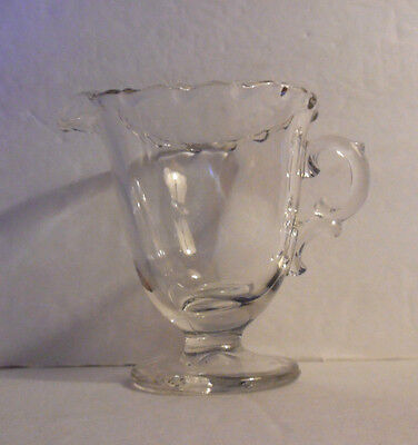 Vintage Fostoria # 2630 Century Pattern Glass Table Creamer