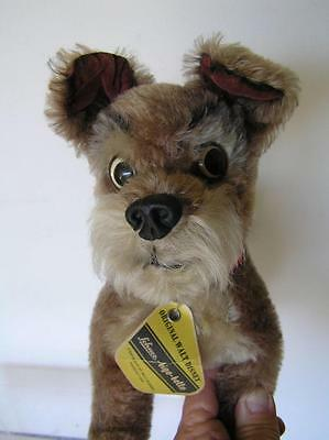 "Rare! Original Walt Disney Schuco Bigo Bello TRAMP DOG  ID 8"" Lady & the TRAMP"