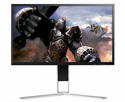 "AOC AG271QX 27"" LED QHD Gaming Monitor 1MS FREESYNC 144HZ 2K HDMI DP DVI SPK"