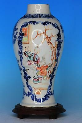 Nice Chinese Blue And White Porcelain Antique Vase