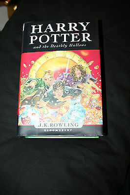Harry Potter and the Deathly Hallows First 1st Edition UK print