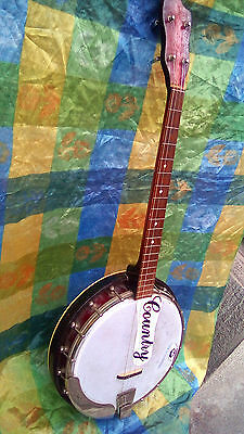 Vintage banjo Musima Made In DDR, all original, works