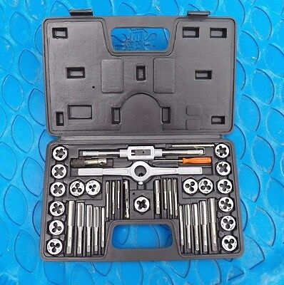 Pittsburgh SAE Item 39391 40 Pc Tap and Die Set - GUC