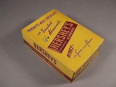 WWII Vintage Hershey's Candy Bar Box