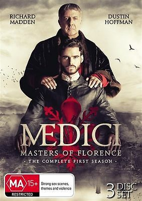 Medici Masters of Florence Season 1 BRAND NEW SEALED R4 DVD