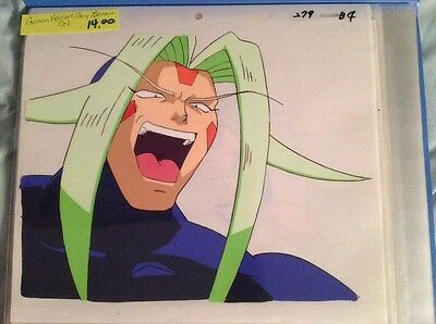 Original Anime Cels Lot Of 8