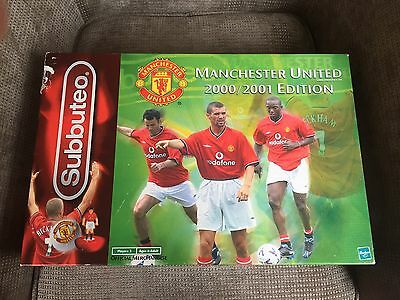 Subbuteo Manchester United Special Edition 2000 2001 VGC Football Game