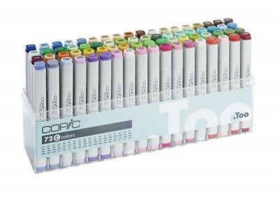 COPIC classic Marker 72er Set C Layoutmarker Zeichnen Skizzieren 20075162