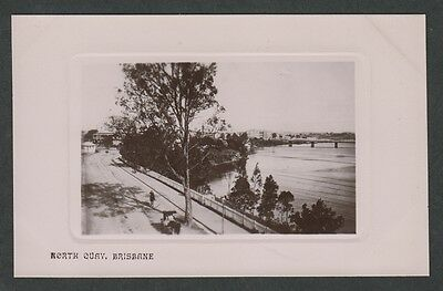 k3204        EARLY POSTCARD OF NORTH QUAY, BRISBANE IN QUEENSLAND,AUSTRALIA