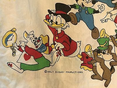 RARE Disney 1950/60 Single Doona Cover/Fabric