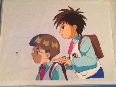 Original Anime Cels Lot Of 6