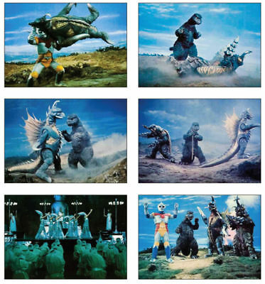 Godzilla King of the Monsters farbiges Postkarten Set #2
