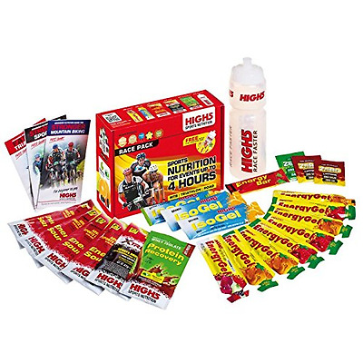 Hydration High 5 Race Pack Road Cycle MTB Triathlon Faster Pack Energy IsoGel