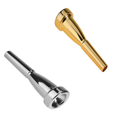 Silver Gold Plated Trumpet Mouthpiece 7C Size for Bach New