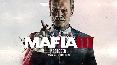 """010 Mafia 3 - Action Role Play Game 24""""x14"""" Poster"""