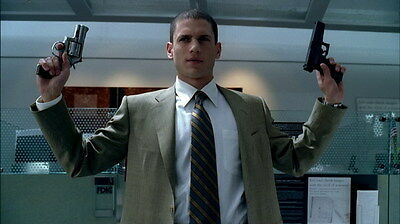 "008 Wentworth Miller - Prison Break American Actor 24""x14"" Poster"