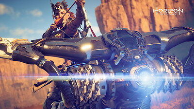 "053 Horizon Zero Dawn - Aloy Adventure Role Play Game 24""x14"" Poster"