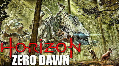 "033 Horizon Zero Dawn - Aloy Adventure Role Play Game 24""x14"" Poster"