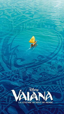 "002 Moana - Animation Adventure Comedy Cartoon Movie 14""x24"" Poster"