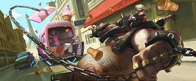 """026 Overwatch - OW FPS 2016 Hot Online Game 57""""x24"""" Poster"""