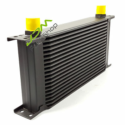 "19 ROW 10AN 13""x7"" x 2"" Universal Auminum Racing Engine Transmission Oil Cooler"
