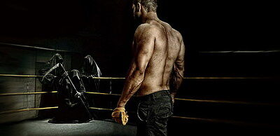 "087 Boxing - Muscle Power Fight Combat Sport 28""x14"" Poster"
