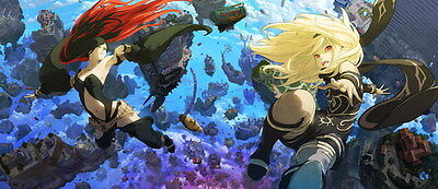"007 Gravity Rush 2 - Action Fight Game 32""x14"" Poster"