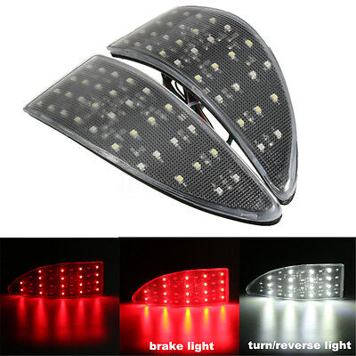 for Lexus IS 250 220d clear Lens Rear Bumper Reflector LED Stop Brake Light XE20