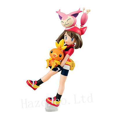 Pokemon Pocket Monsters May & Torchic & Skitty PVC Action Figure With Box