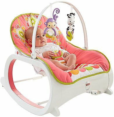Baby Bouncer Seat Fisher Price Infant Toddler Rocker Swing Play Sleeper Floral