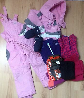 Lot vetements sport d'hiver taille 4 ans (Peak Mountain, Wedze decathlon)