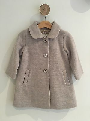 Baby Girls  Wool Purebaby Jacket Size 1 For 12-18months