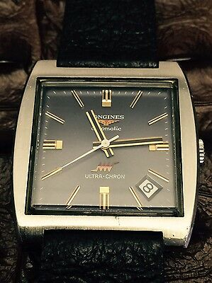 Vintage longines ultra-chron auto matic Stainless Steel Men's Watch
