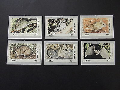 """Australia  Threatened Species Counter Printed Stamps """" Rx1 """" Mnh"""