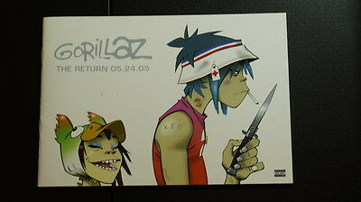 Gorillaz The Return (2005 Virgin) VF/VF+ Rare Comic Hewlett Demon Days