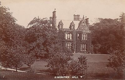 Riversyale Hall, Country House, Rp, Circa 1920, Derbyshire