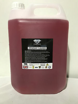 Super Strength Path Patio,Decking & Driveway Cleaner Concentrate 5 Litre