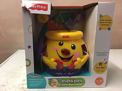 Fisher-Price Laugh Learn Cookie Shape Surprise