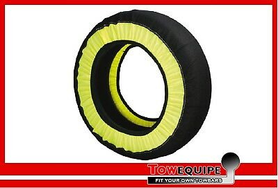Pair Multi Grip Snow Ice Sock Chains Type: 71 Tyre Size: 145 80 x 13 MGRIP71_A2